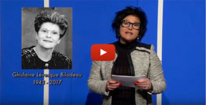 Hommage - Ghislaine Bilodeau - Télébingo